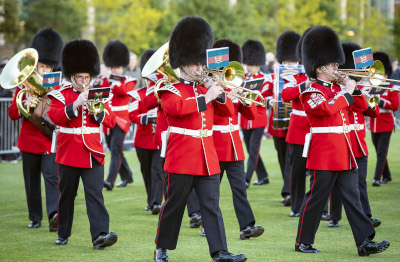 HAC Band at the Open Evening, 2019