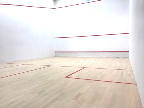 A squash court at Virgin Active