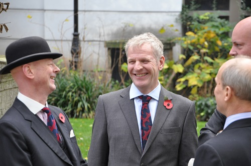 Company Members at Remembrance Sunday