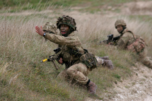 HAC Troops on Exercise