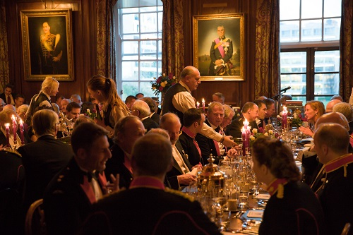 The Mess Club in the Long Room at Armoury House