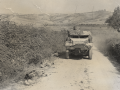 WW2  11th RHA  B Bty wireless halftrack  nr San Savino Sep 1944