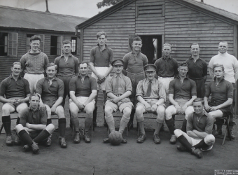 WW2  273 Bty football team 1940 41