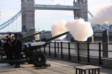 Prince of Wales  70th Birthday Gun Salute  6