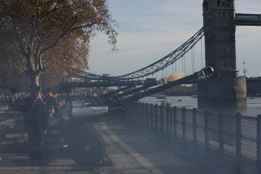 Prince of Wales  70th Birthday Gun Salute  8