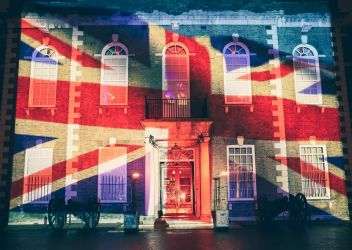 THE HAC Armoury House Union flag